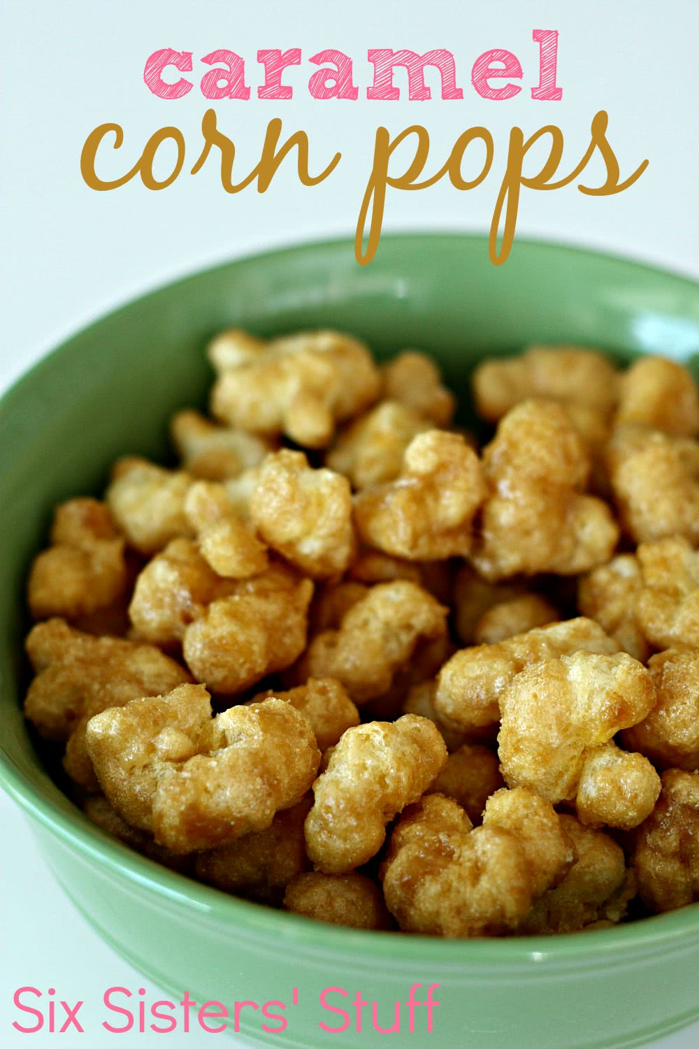 caramel corn pops