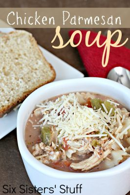 Slow Cooker Chicken Parmesan Soup Recipe