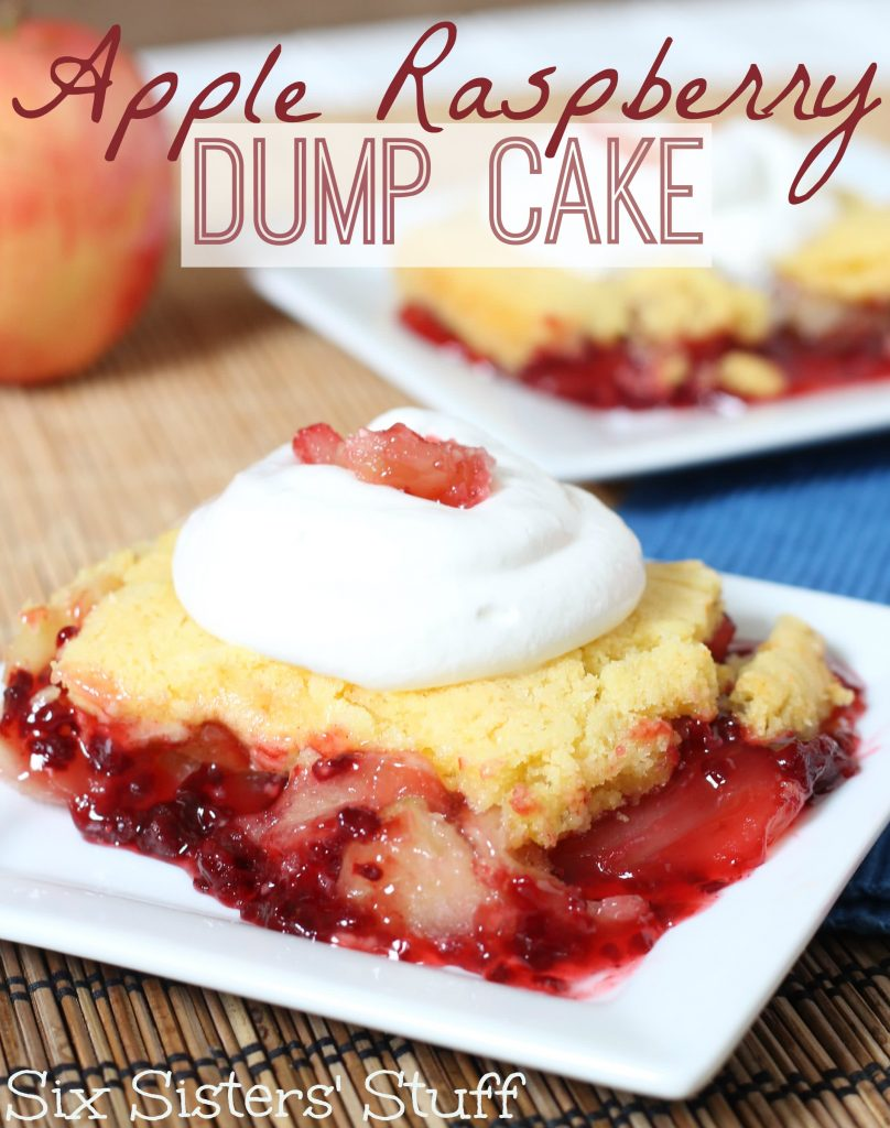 Apple Dump Cake In The Oven