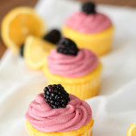 lemon-cupcakes-with-blackberry-buttercream