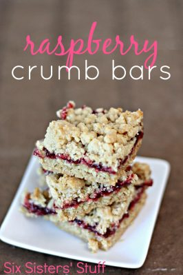 Raspberry Crumb Bars Recipe
