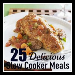 Fresh Food Friday- 25 MORE Slow Cooker Recipes!