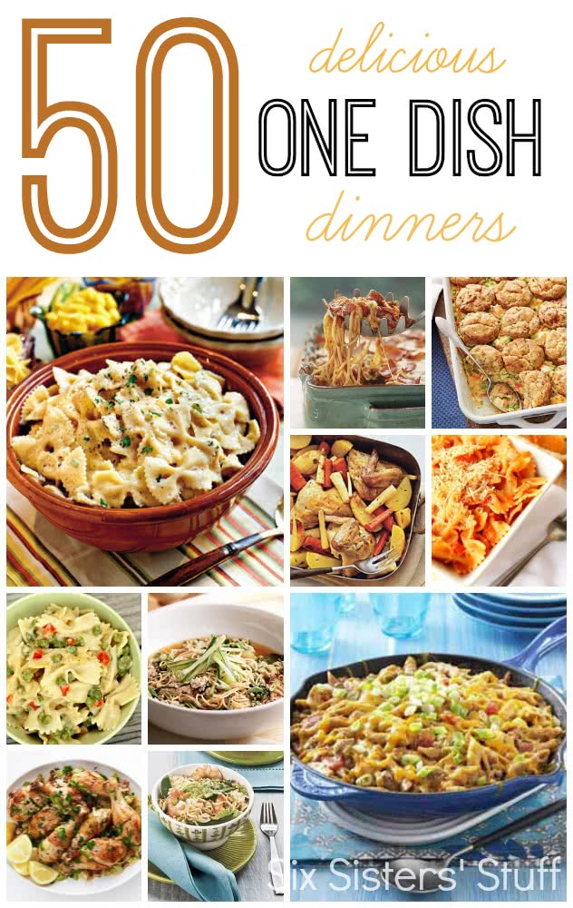 50 One Dish Dinner Recipes