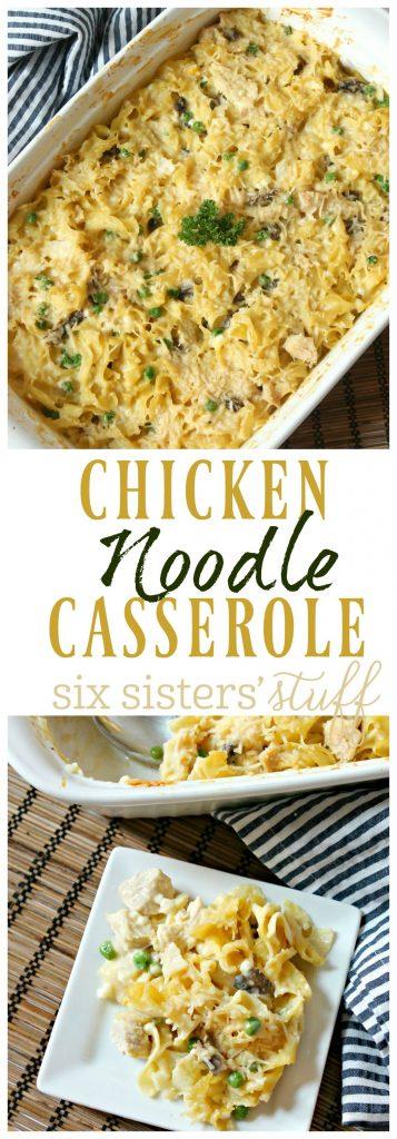 Chicken Noodle Casserole 14
