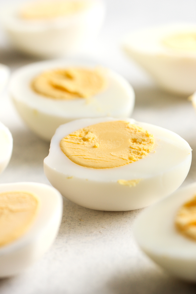 hard boiled eggs for egg salad recipe