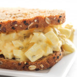 how to make an egg salad sandwich with our egg salad recipe