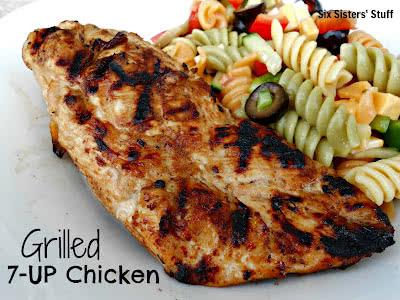 Mom's SECRET Recipe: Grilled 7-UP Chicken