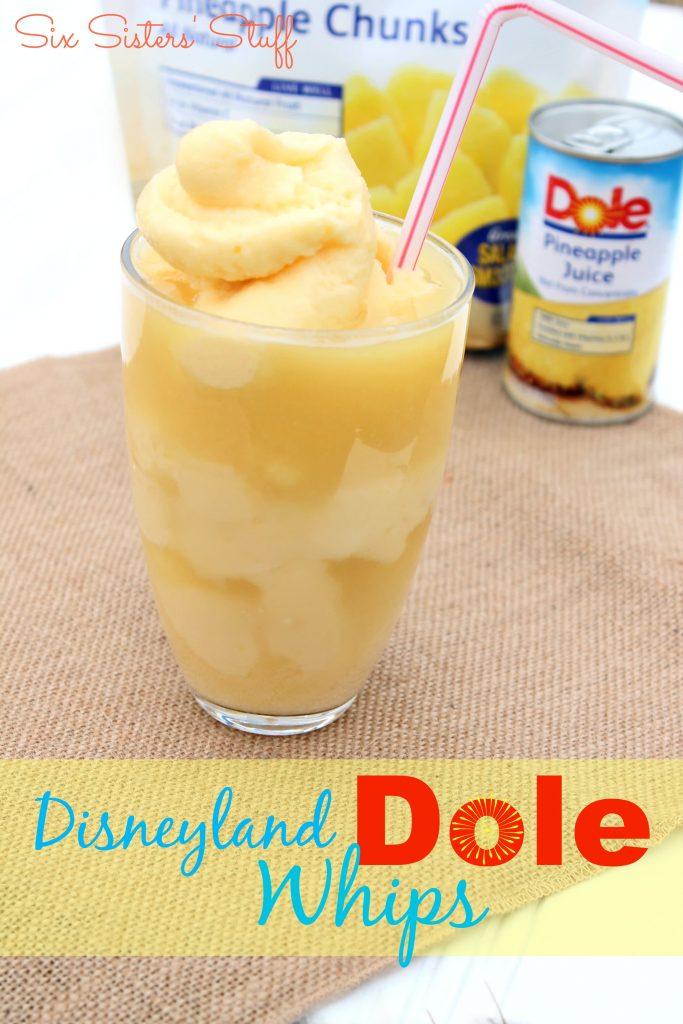 How to Make Dole Whips like Disneyland