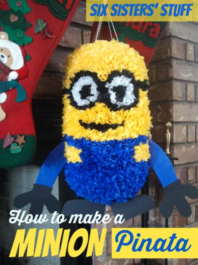 How To Make A Minion Pinata