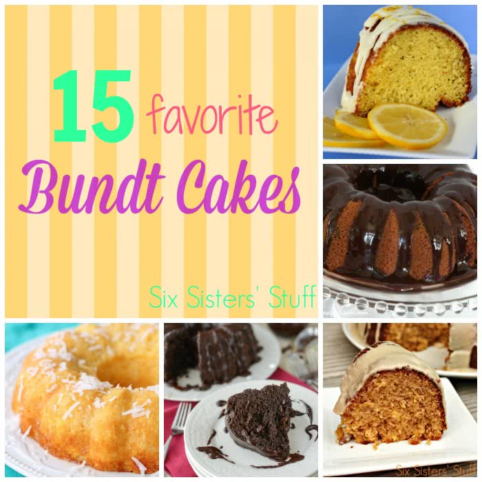 15 Favorite Bundt Cakes