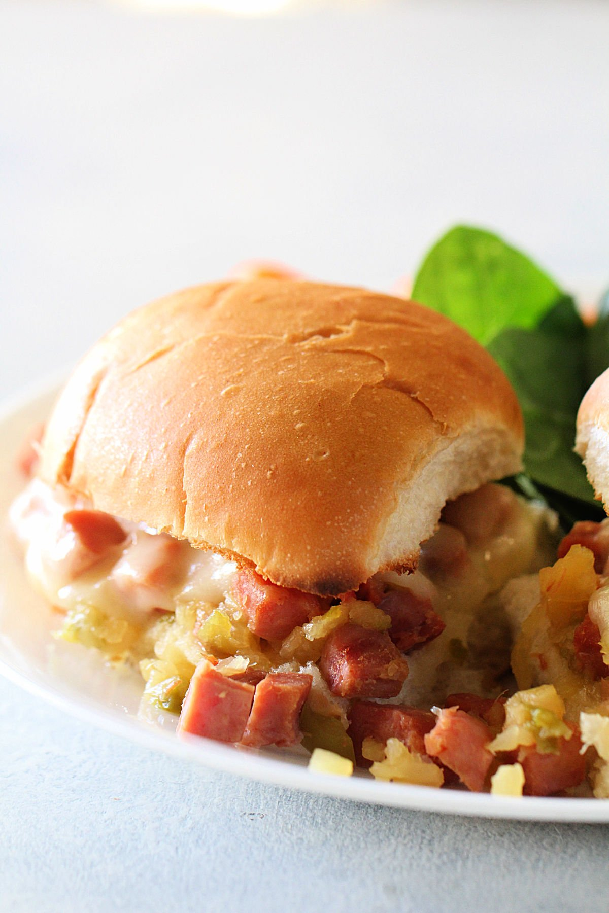 Slow Cooker Ham and Pineapple Sandwiches Recipe