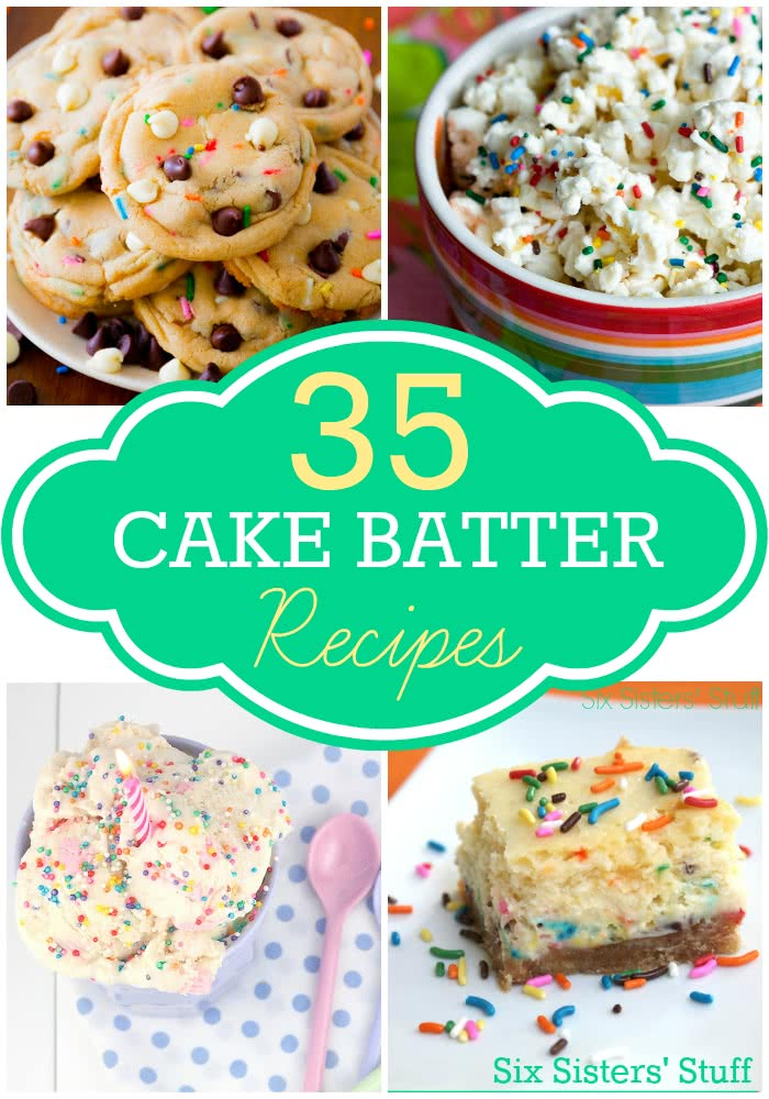 cake-batter-recipes
