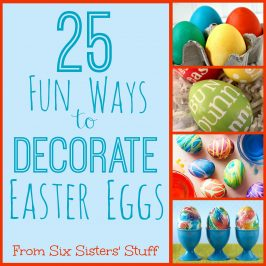 25 Fun Ways to Decorate Easter Eggs