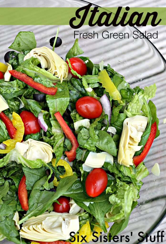 italian fresh green salad recipe