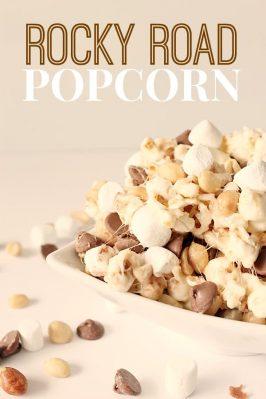Rocky Road Popcorn