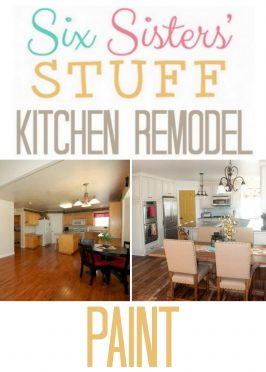 Six Sisters' Stuff Kitchen Remodel: Paint