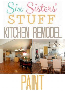 Six Sisters' Stuff Kitchen Remodel: Paint