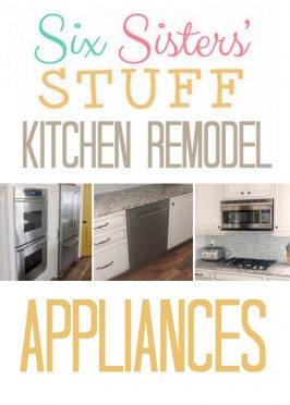 Six Sisters' Stuff Kitchen Remodel: Appliances