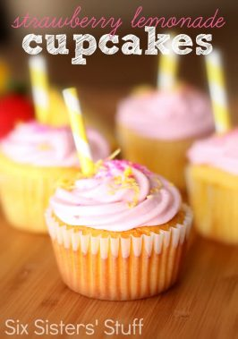 Strawberry Lemonade Cupcakes Recipe