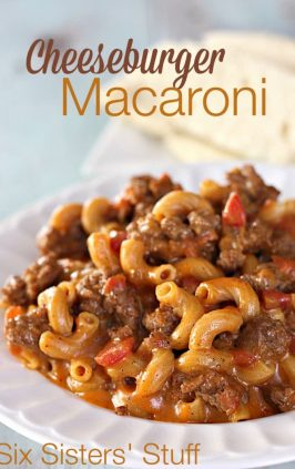 how to make macaroni and cheese with beef
