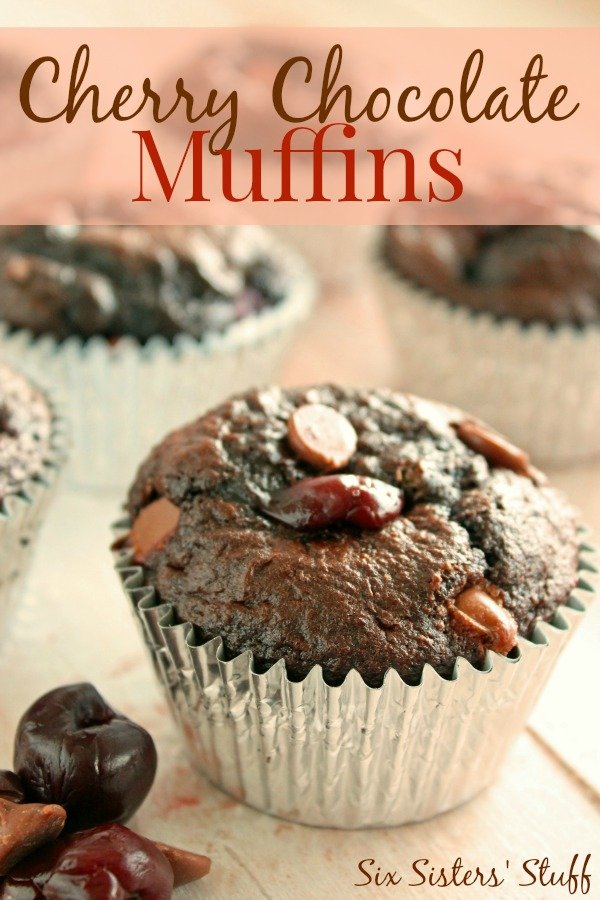 Cherry Chocolate Muffins Recipe