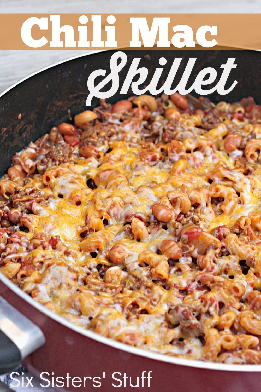 Chili Mac Skillet Recipe