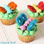 Cute Fluttering Cupcakes
