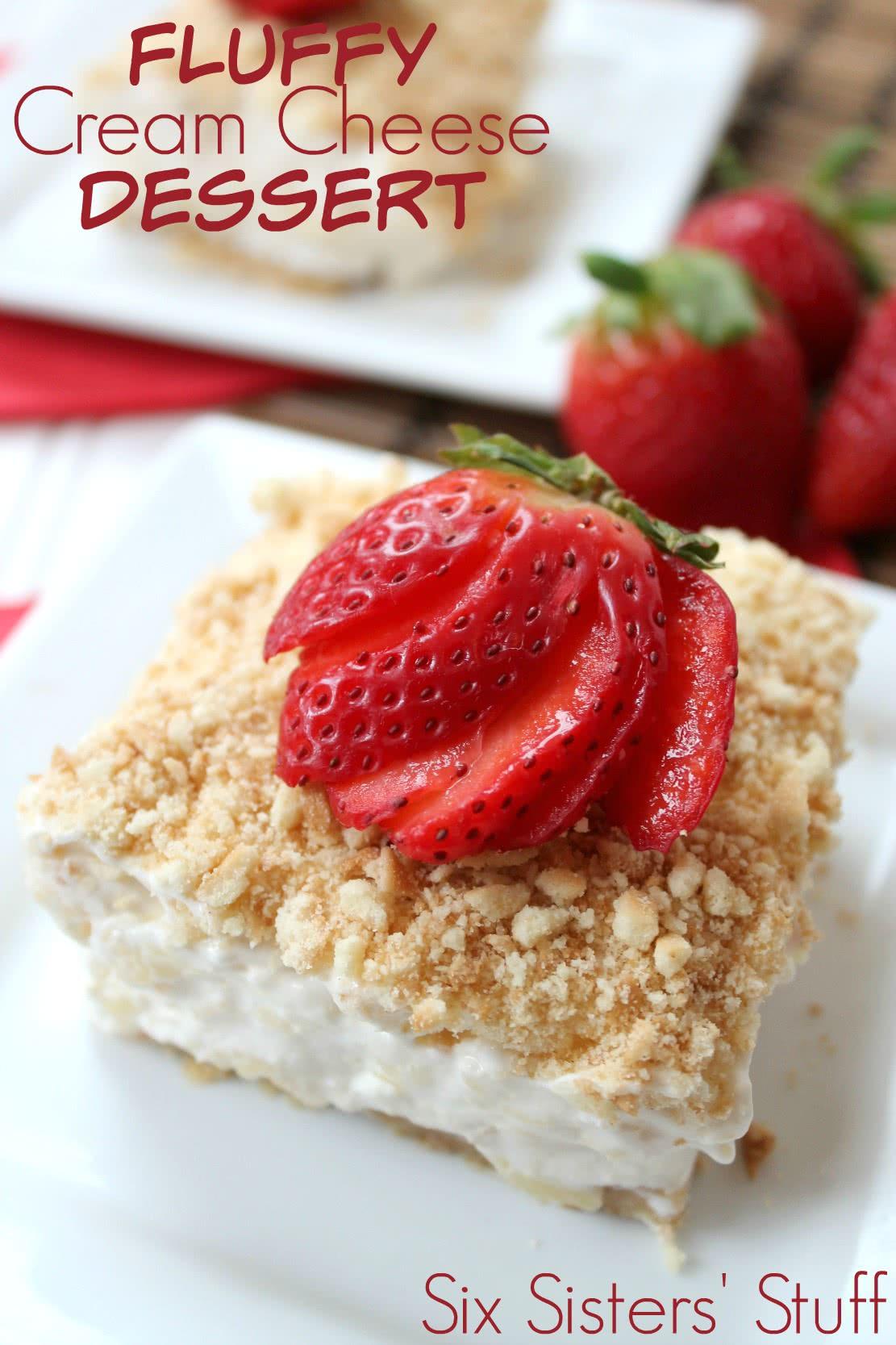 Fluffy Cream Cheese Dessert 4