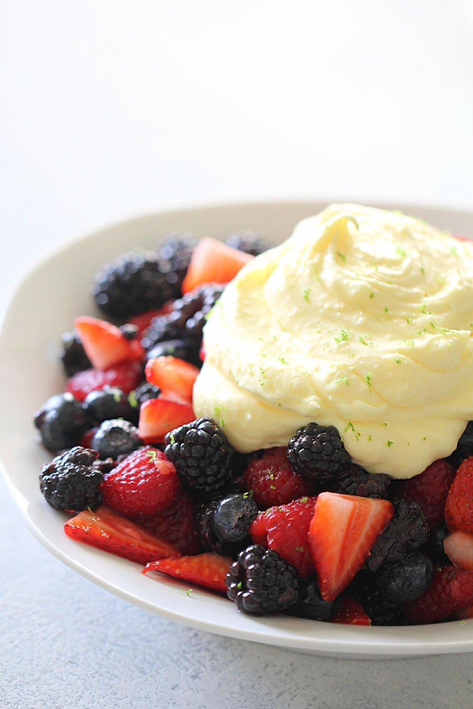 Berries and Cream Recipe