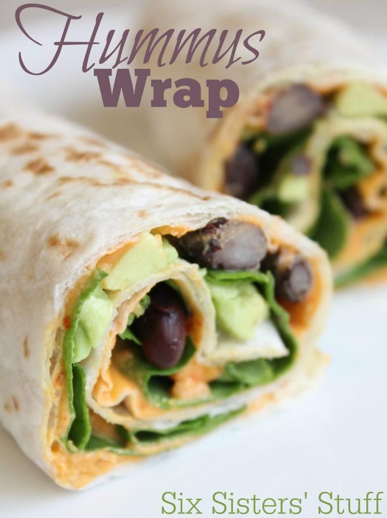 Hummus wrap