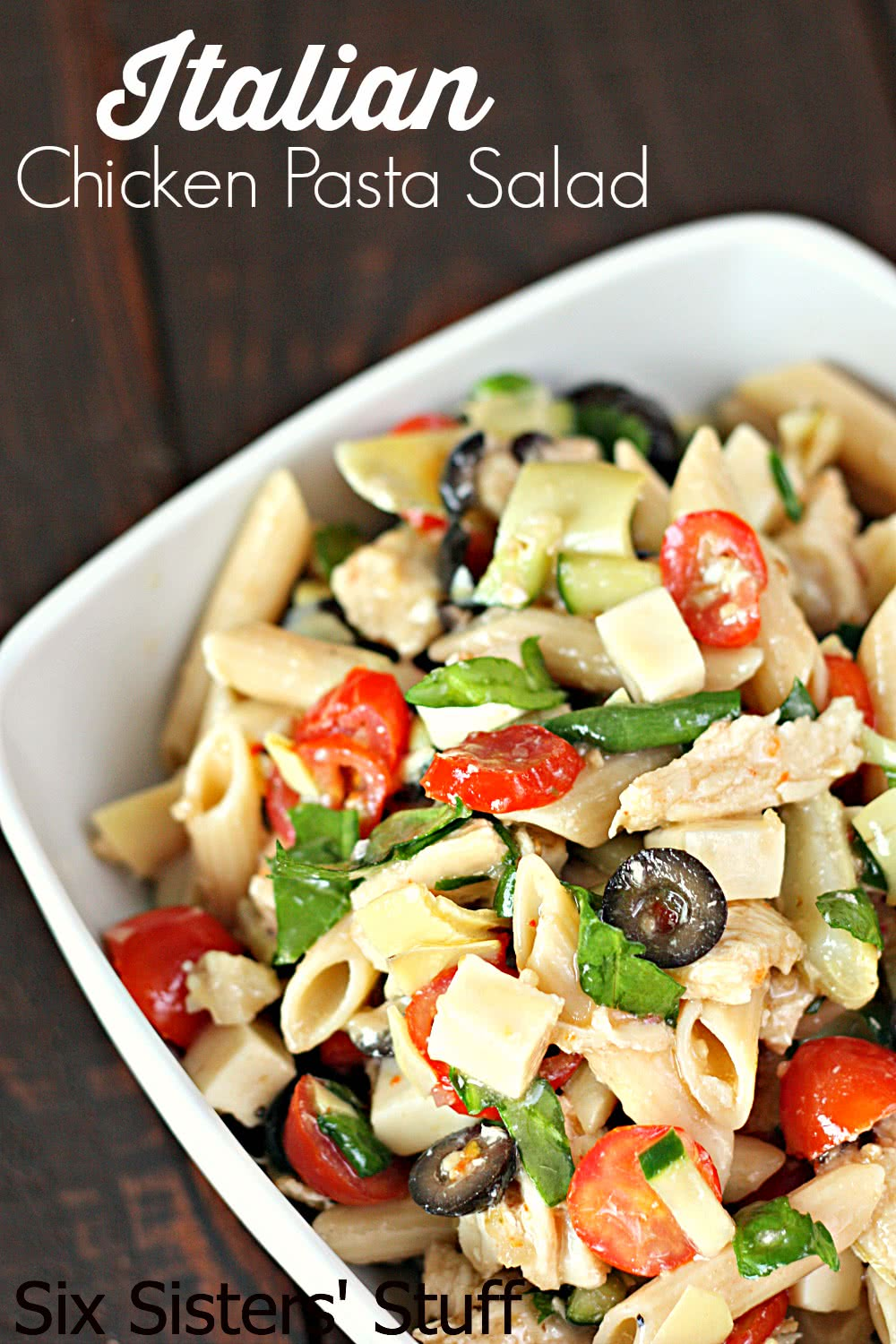 Italian Chicken Pasta Salad Recipe