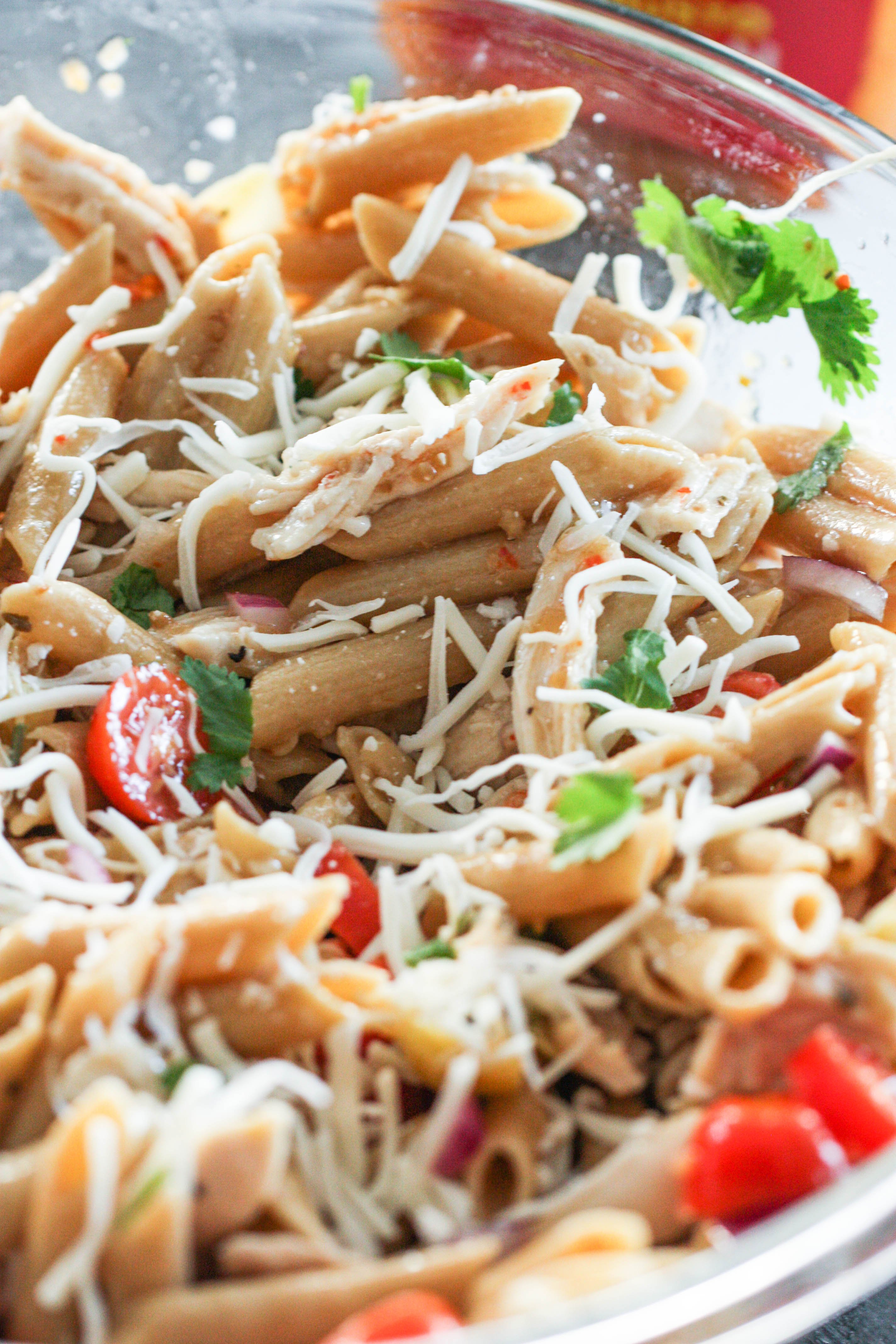 Italian Chicken Pasta Salad Recipe