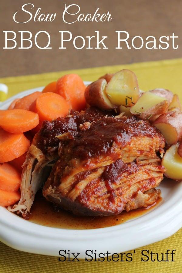 Slow Cooker BBQ Pork Roast Recipe