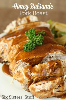 Slow Cooker Honey Balsamic Pork Roast Recipe