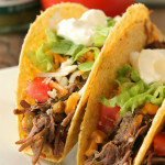Slow-cooker-shredded-beef-tacos