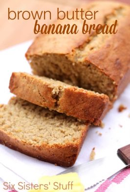 Brown Butter Banana Bread Recipe
