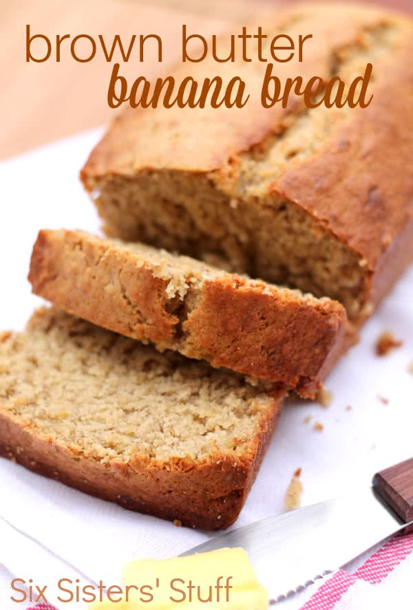 Brown butter banana bread recipe six sisters stuff six sisters brown butter banana bread recipe forumfinder Images