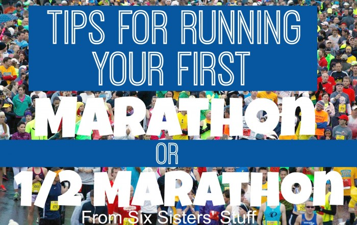 10 Tips for Running Your First Marathon or 1/2 Marathon