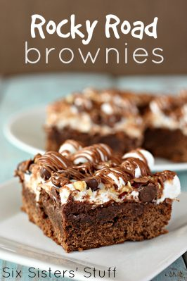 Rocky Road Brownies Recipe
