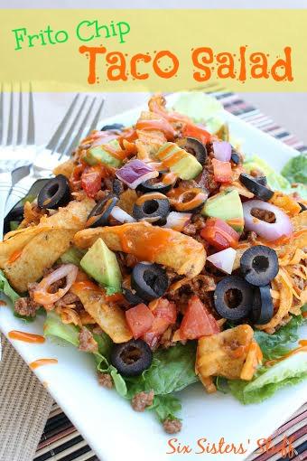 Frito Chip Taco Salad Recipe