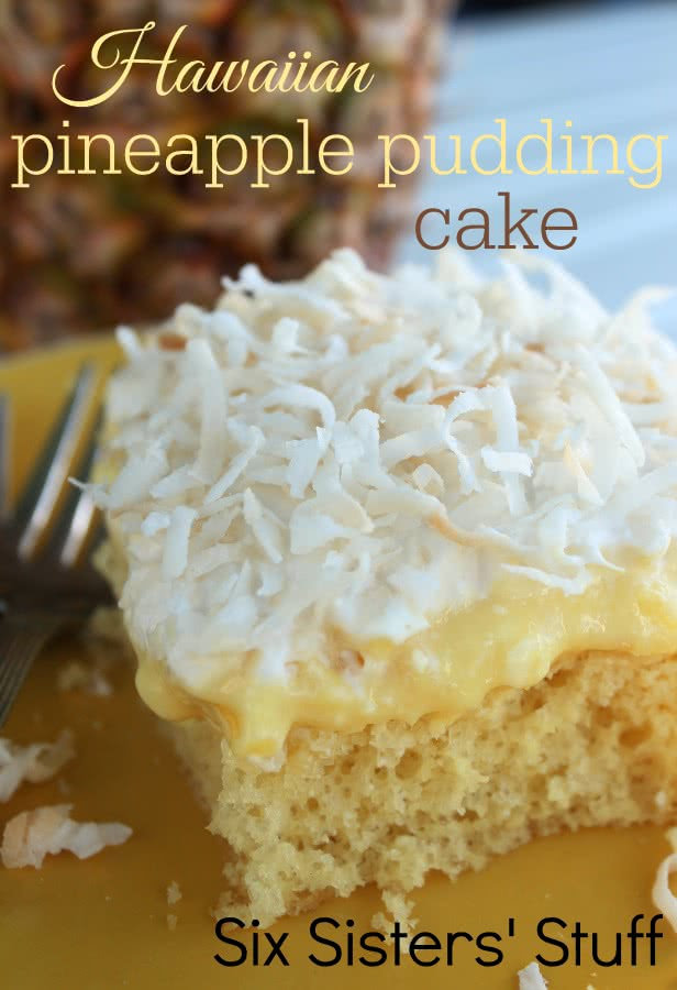 Hawaiian Pineapple Coconut Pound Cake