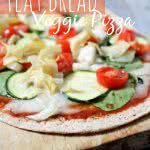 Healthy Flatbread pizza