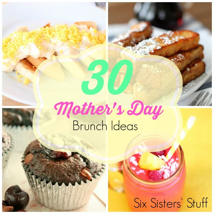 30 Mother's Day Brunch Ideas