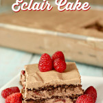 No Bake Chocolate Eclair Cake Recipe