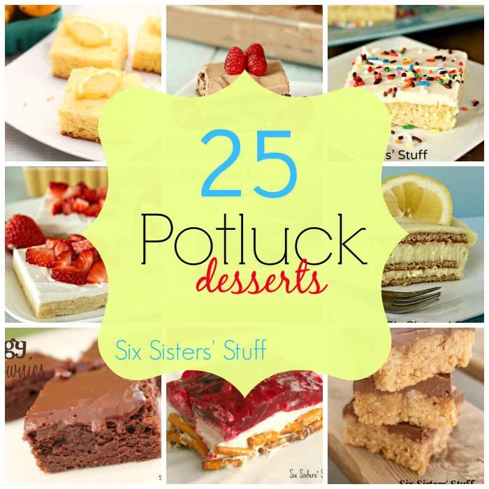 25 Potluck Desserts