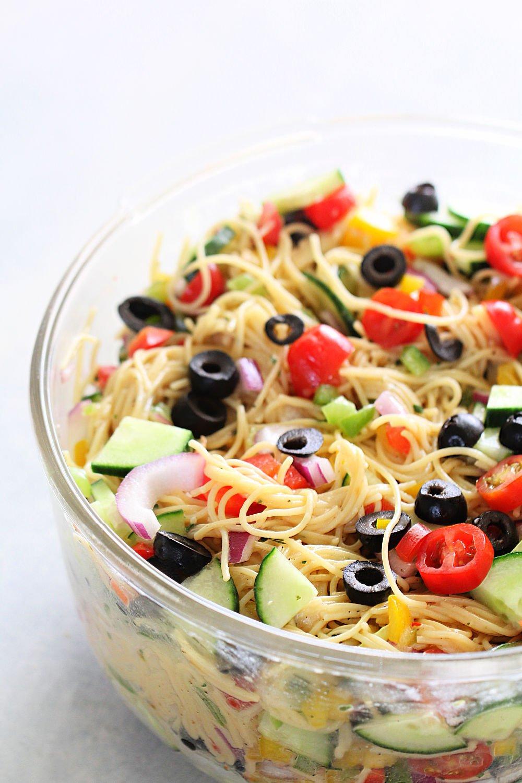Ranch Pasta Salad (Easy Side Dish) Recipe