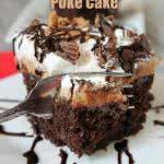 Reeses Peanut Butter Poke Cake