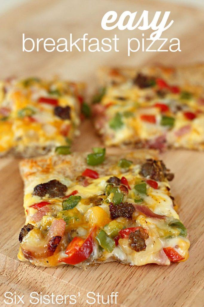 Easy Breakfast Pizza / Six Sisters' Stuff