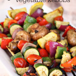 grilled vegetable kebobs recipe