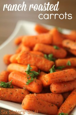 Ranch Roasted Carrots Recipe